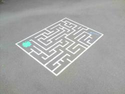 Labyrinthe pour cour de recreation 3 20 1